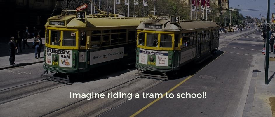 My story of being on a tram as a 7 year old and missing the stop, made me realize how we all need to beat the transition blues. Everyone gets overwhelmed with change at some point in their life