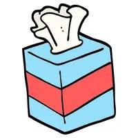 tissue box graphic