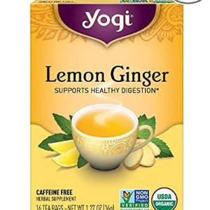 yogi ginger lemon tea