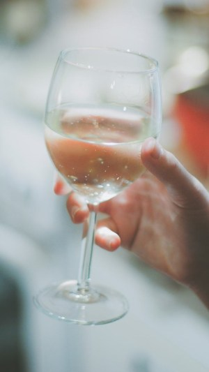 water-in-a-wine-glass