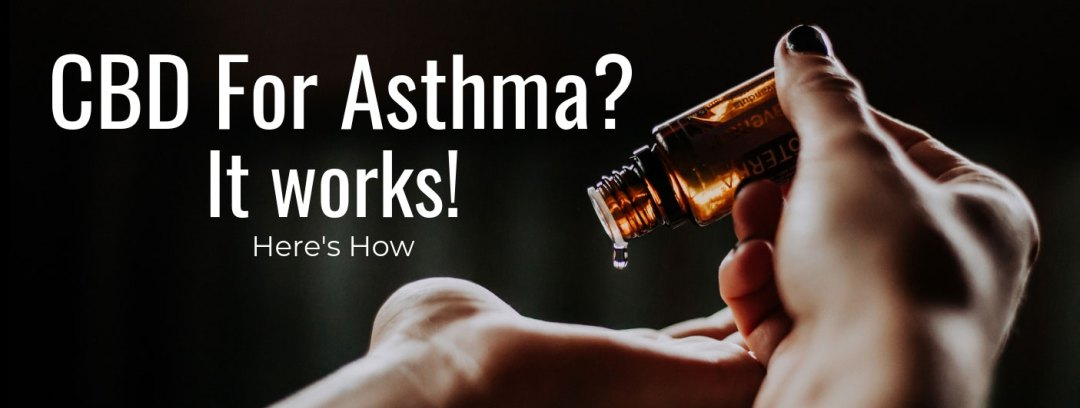 cbd for asthma banner graphic