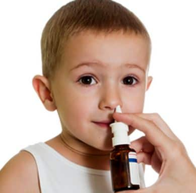 Treating nasal congestion and allergies in babies can help reduce dark eye circles fast.