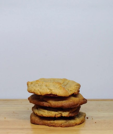 Peanut Butter Cookie Stacked