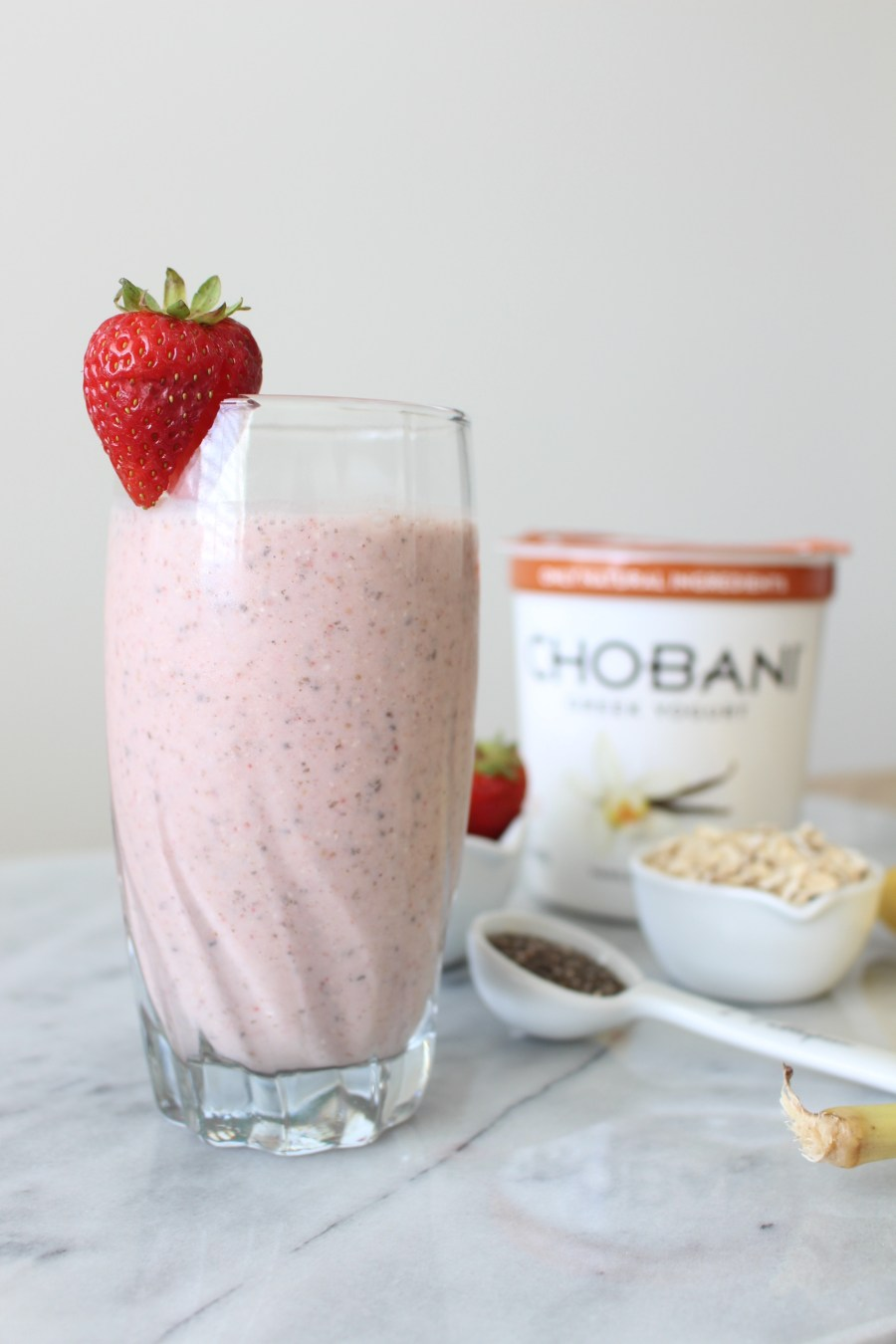 Healthy Smoothie Recipes, food blog, Treats and Trends, Chobani