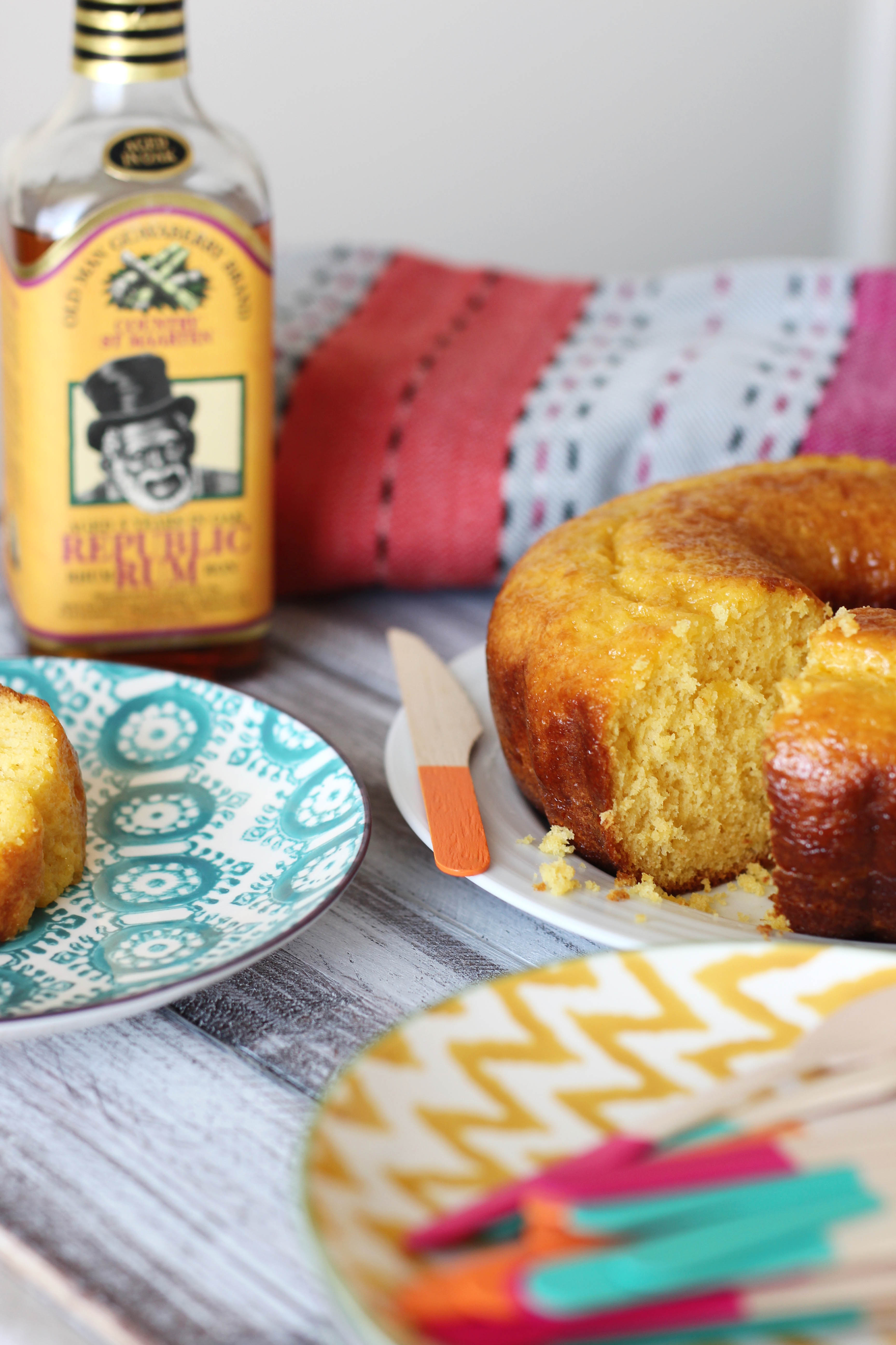 Rum Cake Treats And Trends