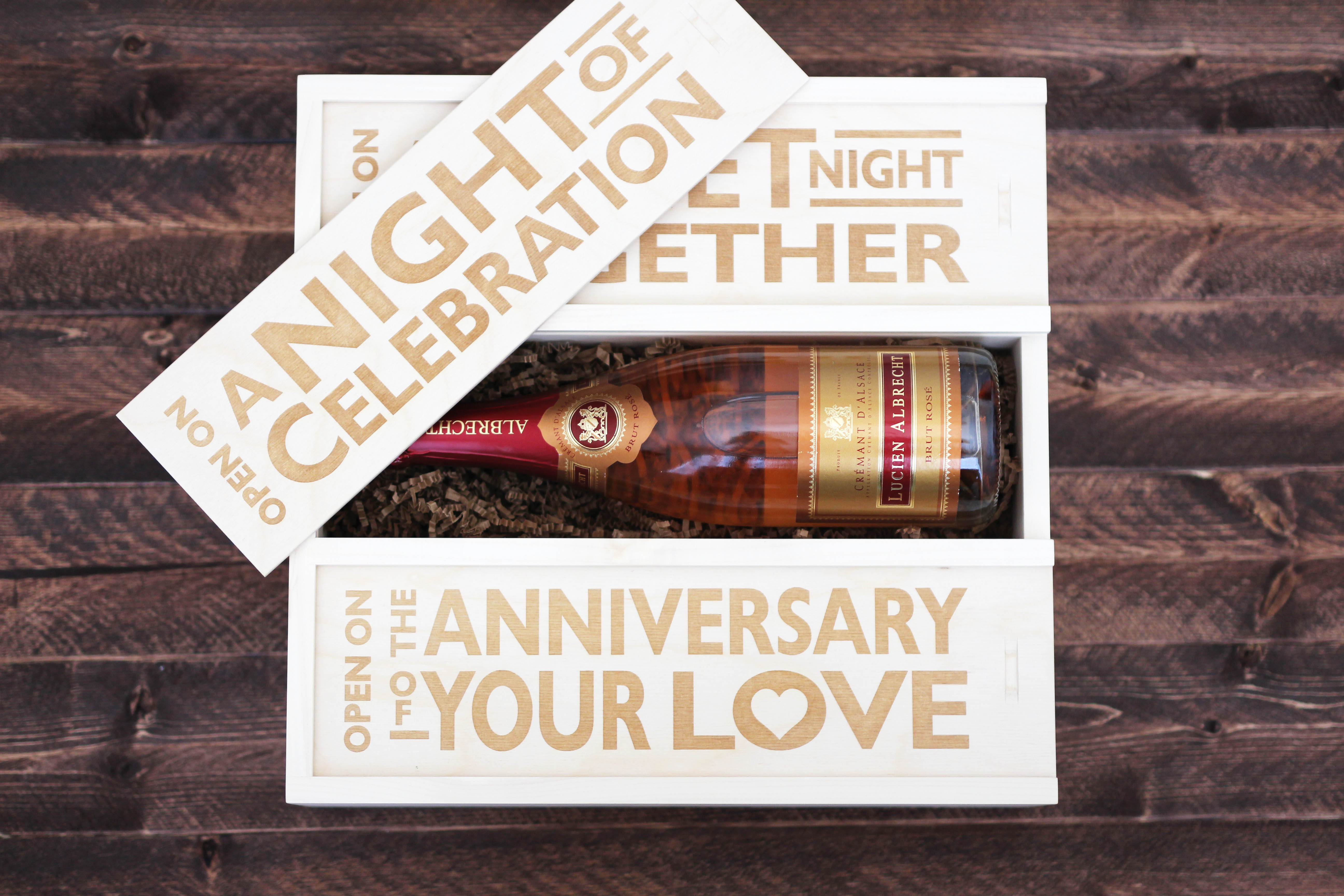 Wedding anniversary gift ideas treats and trends