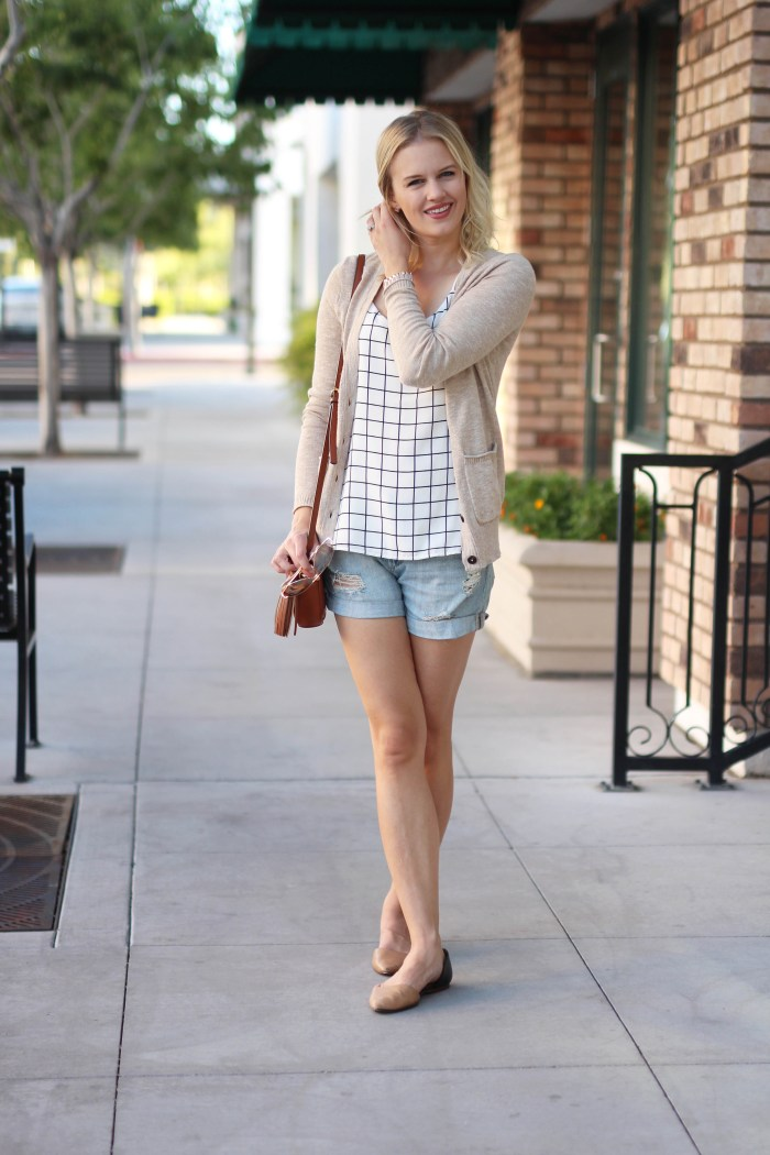 shorts-and-sweater