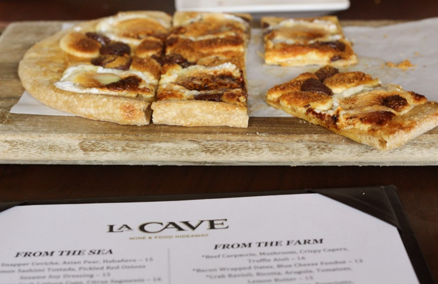 S'mores Flatbread from La Cave at Wynn Las Vegas