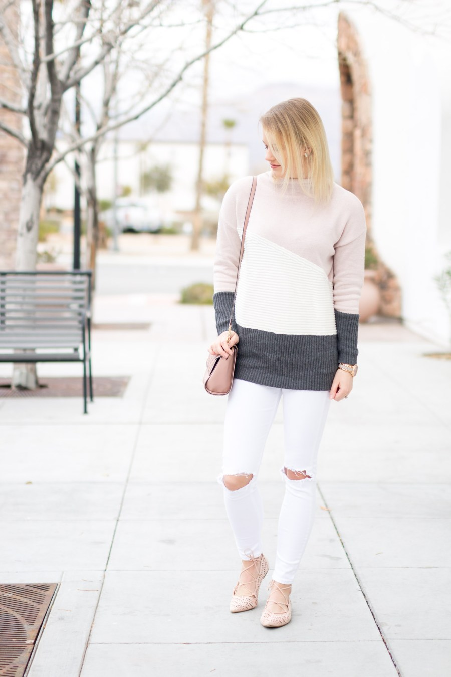 Soft Neutral Colors For Winter Fashion Blog Treats And Trends Color Block