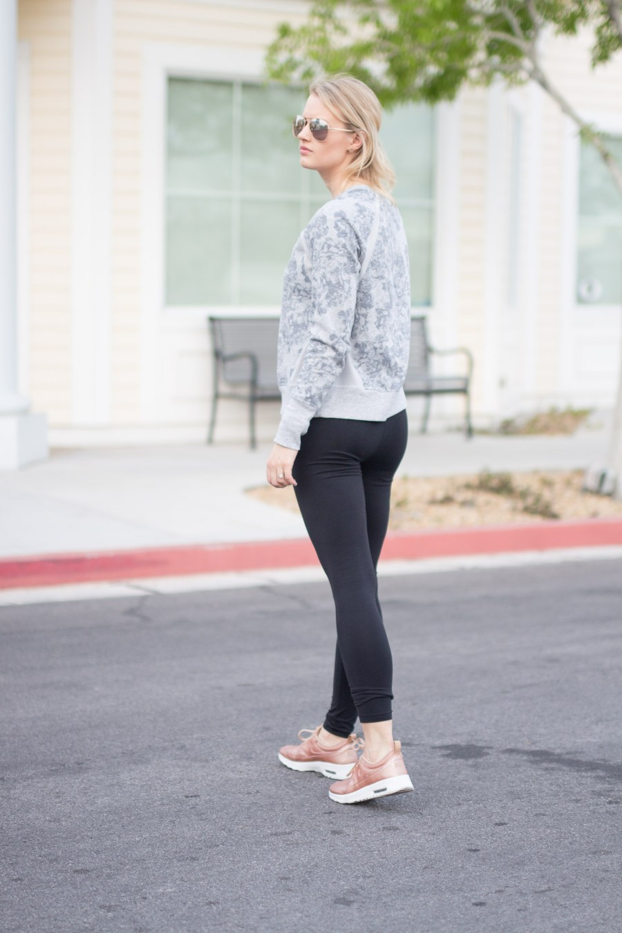 Stores for Activewear, Athleisure, Old Navy, Target, Nordstrom, fashion blog, Treats and Trends, gym outfit idea