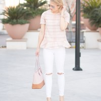 10 Ways To Wear White Skinny Jeans