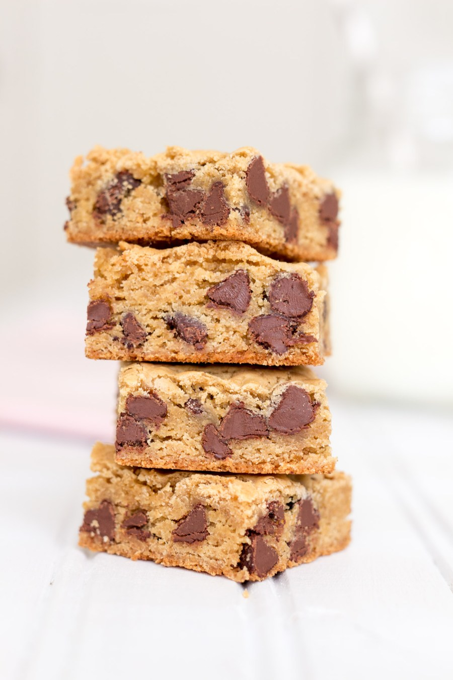 Chocolate Chip Cookie Bars, baking blog, Treats and Trends
