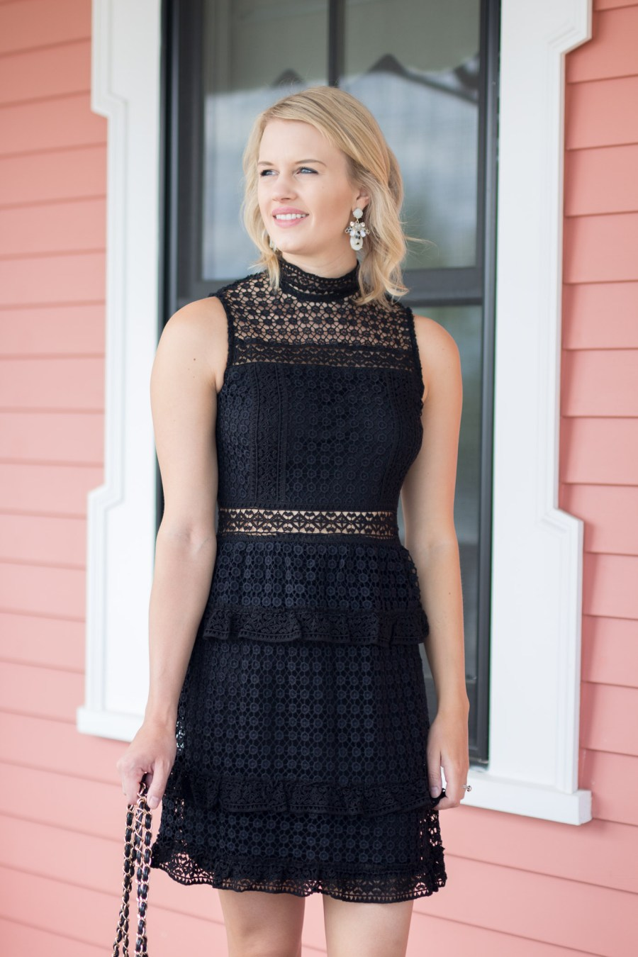 The Perfect Little Black Dress for Wedding Season - Treats and Trends