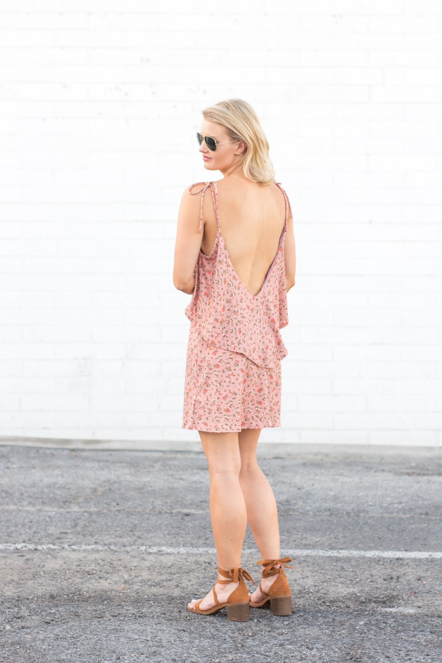 The $27 Lace-Up Sandals You Will Wear All Summer Long, Target Sandals, summer outfit idea, fashion blog, Treats and Trends