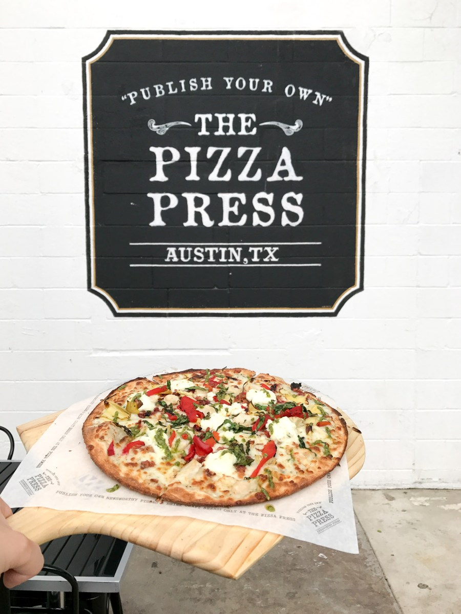 Austin, Texas Travel Guide, travel blogger, The Pizza Press, where to eat in Austin