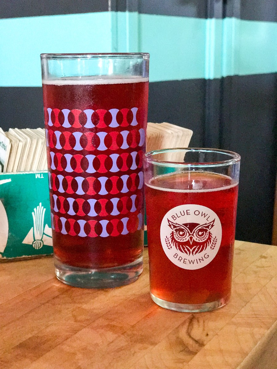 Austin, Texas Travel Guide, travel blogger, Blue Owl Brewing, sour beers