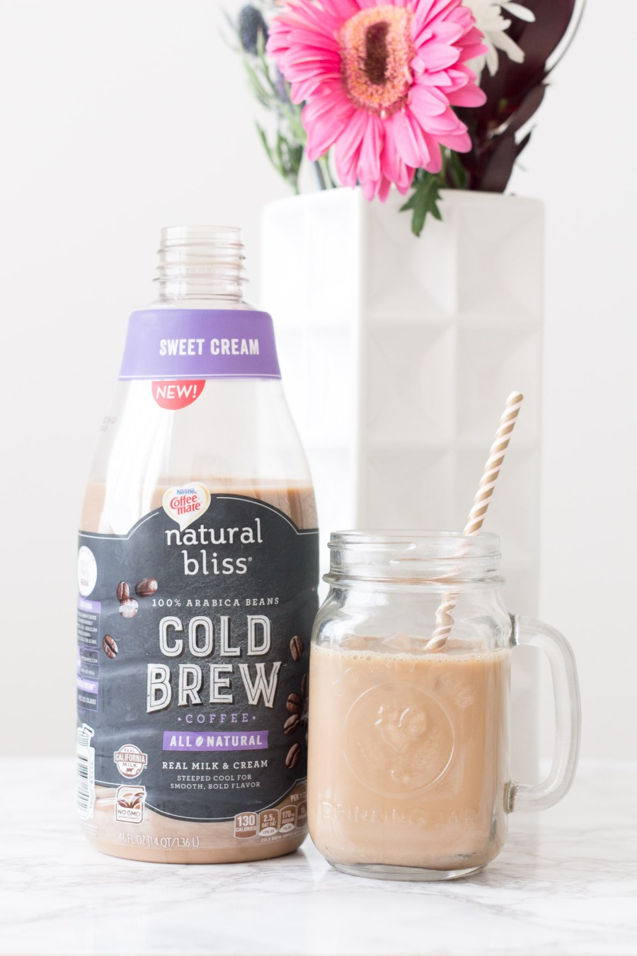 how to get dressed and out the door in 20 minutes, Coffee-mate cold brew