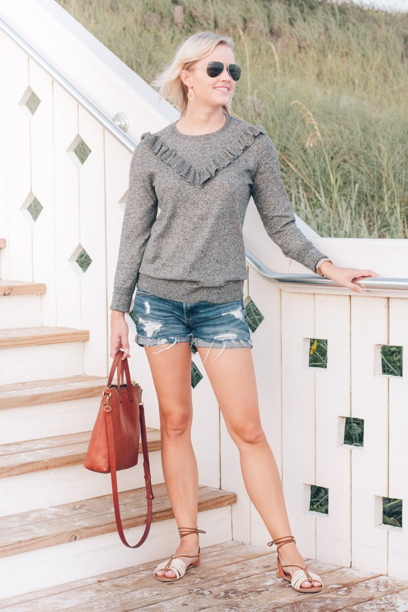a new day, Target, ruffle pullover