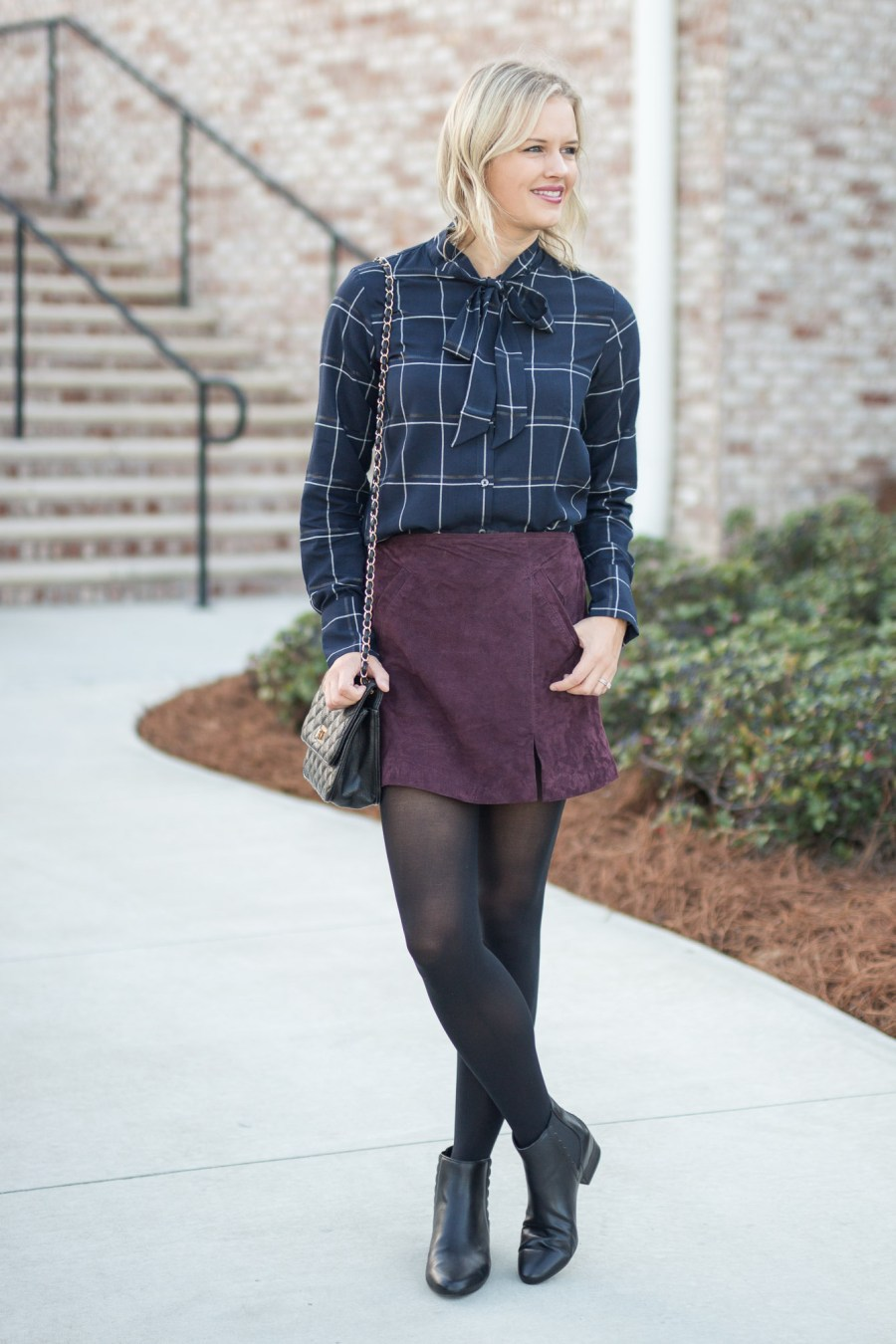 Dressy Thanksgiving Outfit Idea from Banana Republic