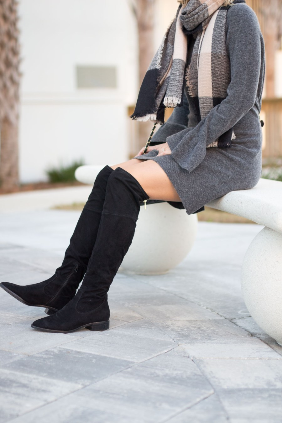How To Style a Sweater Dress This Winter