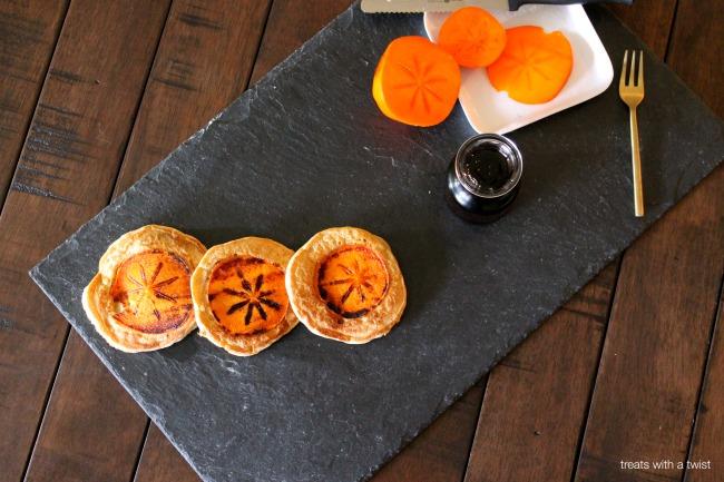 Persimmon Pancakes 2