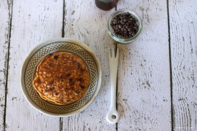 Chocolate Chip Cookie Pancakes 1