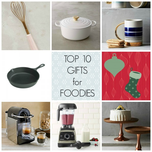 Foodie Gifts // treatswithatwist.com