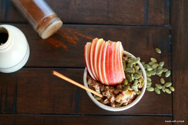 Apple Pie Oatmeal 2