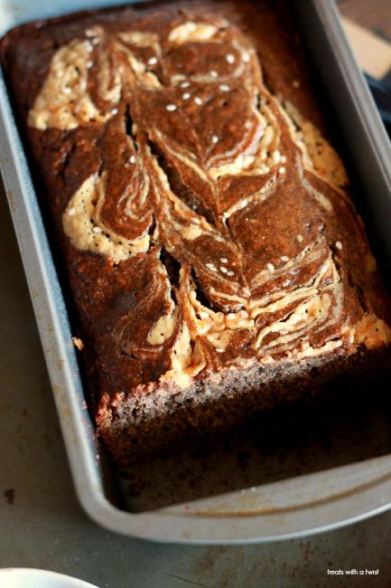 Tahini Chocolate Chunk Banana Bread 3