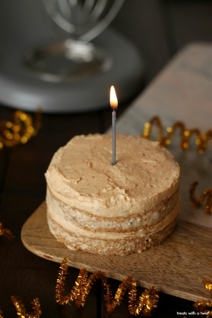 Babys Applesauce Cake with Peanut Butter Frosting Treats With a
