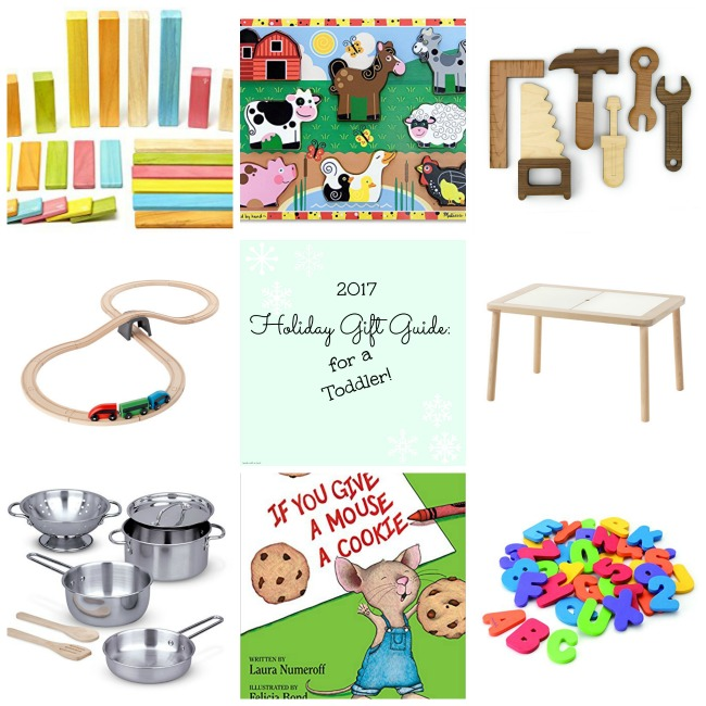 Holiday Gift Guide: Toddler // treatswithatwist.com