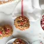 Grain-Free Andes Peppermint Chip Cookies // gluten free // treatswithatwist.com