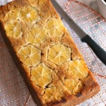 Meyer Lemon Olive Oil Cake // gluten free // treatswithatwist.com