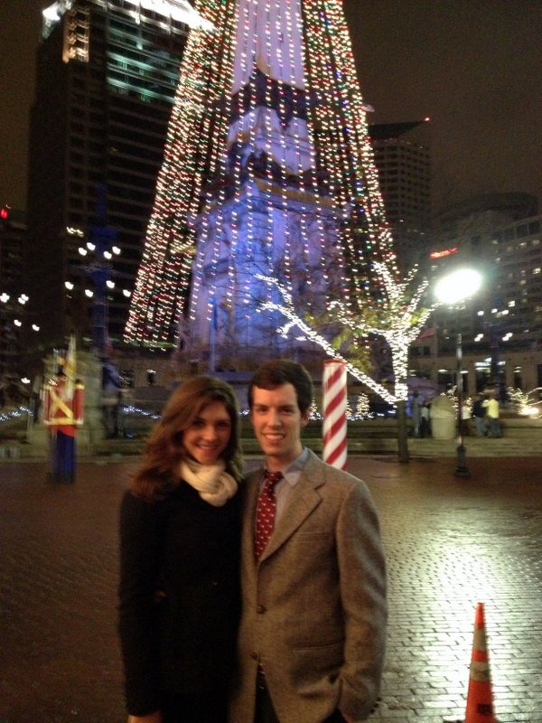 Tara and Brian Tree 1