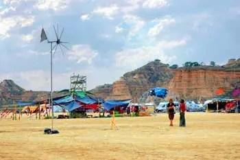 Nowhere Burning Man camp