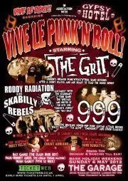VIVE LE PUNK'N'ROLL! The Grit, 999, Roddy Radiation (The Specials)