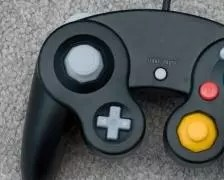 A picture of a vidoe game controller