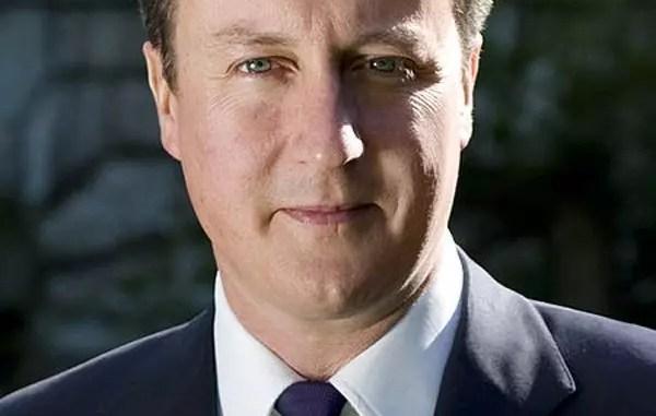 David Cameron official photo