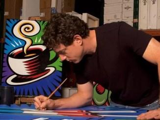 A picture of artist Burton Morris