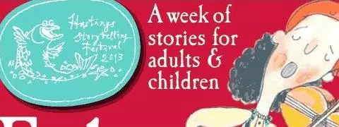 A poster for Hastings Storytelling Festival