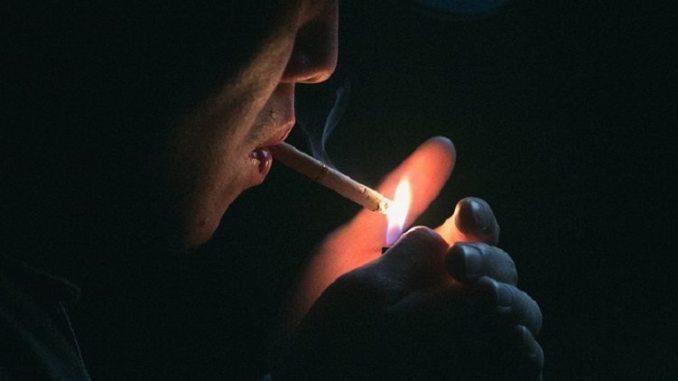 smoker, cigarette