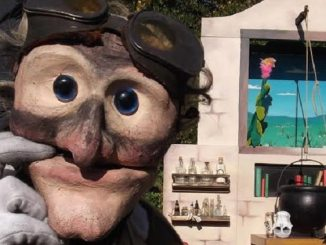 Frolicked Outdoor Puppet Theatre