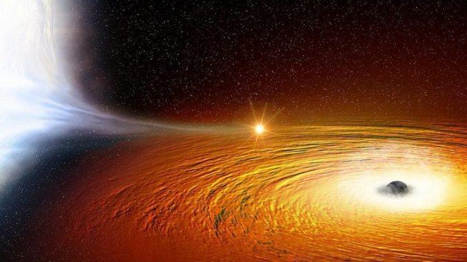 black hole by NASA