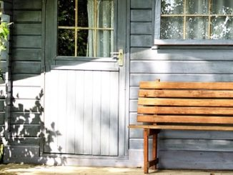 garden shed, downsized living