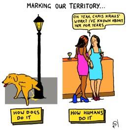 Slave to the circadian rhythm: Satirical Saturday Cartoon on Art by Alex Brenchley 2018