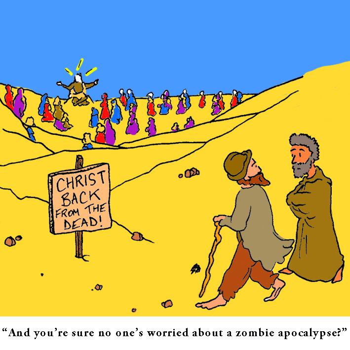 Comeback: Satirical Saturday Cartoon on Art by Alex Brenchley 2019