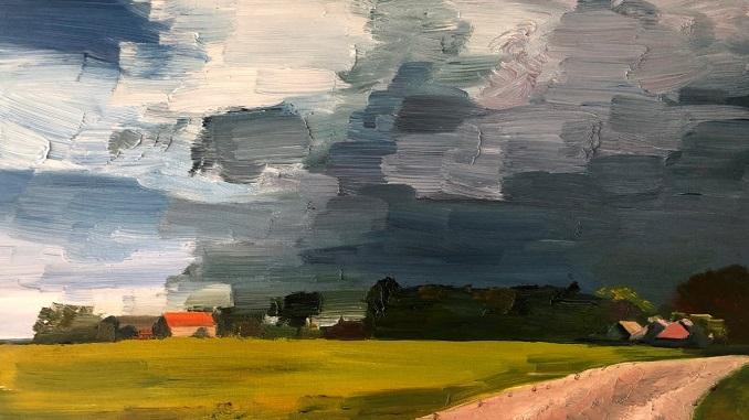 'Landscape' & 'Contemporary Painting'