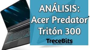 nuevo portátil para juegos Predator Triton 300 [Vídeo]
