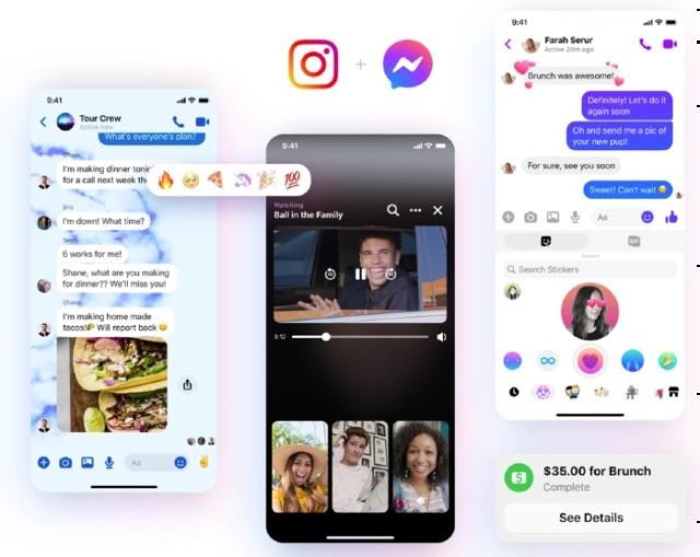 Integración Messenger e Instagram