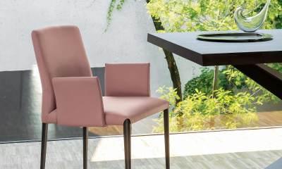 Modern Italian Design dining chair by Riflessi-aurora